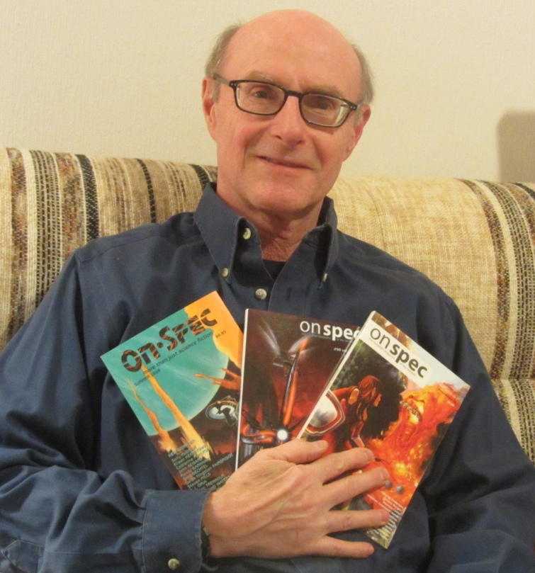 Al Onia is very proud of the 3 (and counting) stories which appeared in On Spec. In the last year, he's transitioned to a half-time geophyiscal career to write every day. His debut SF novel, Javenny, lalunched from Bundoran Press in August, 2014. Additional short story publications trickle out and three novels are in various stages, from 'under consideration' to skeletal first drafts. You can visit Al at:http://ajonia.com