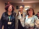 Leslie Brown, Leah McLean-Evans and Lynne McLean