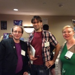 Mark Shainblum, Daniel Beaudoin and Kate Heartfeld
