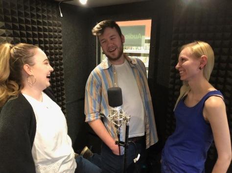 Sound Ideas cast at work